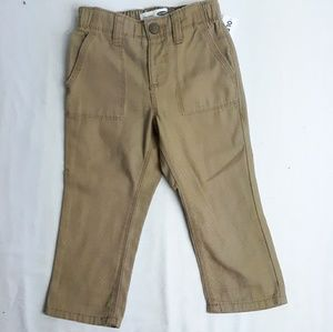 New Old Navy Toddler Boy Khaki Pants Sz 2T